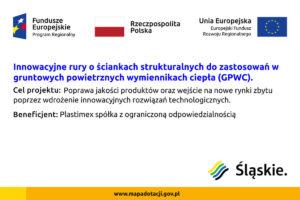 Tablica Fundusze EU Plastimex